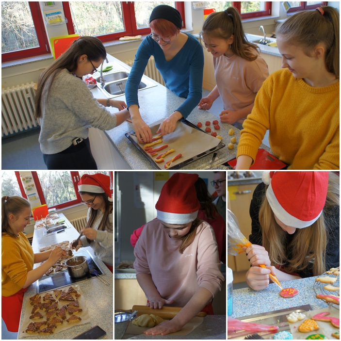Einblicke in unsere Weihnachtsbäckerei